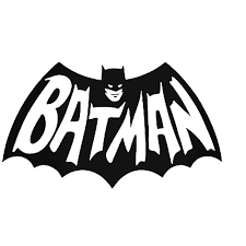 Batman Vintage Logo Vinyl Decal Sticker