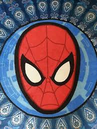 Spiderman Abstract Web Shaped Rug Floor Mat Non Slip Childrens Kids Bedroom Dywany I Chodniki A2btravel Ge