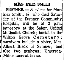 Inez May Smith (1907-1969) - Find A Grave Memorial