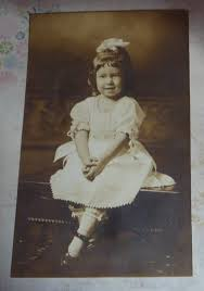 Antique AZO RPPC Norma Nelda Smith - Age 3 1/2 Years Taken in ...