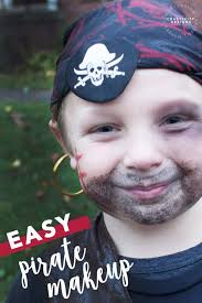 how to do easy pirate makeup for a
