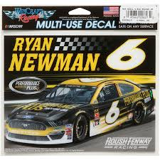 Ryan Newman Wincraft 4 5 X 6 Multi Use Car Decal