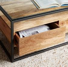coffee tables with storage for small
