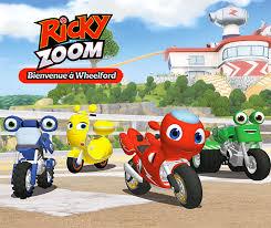 Ricky Zoom Bienvenue A Wheelford Une App Gratuite Pour Les