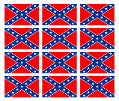 Rebel Confederate Flag 12 2 Helmet Stickers Usa Sticker Decal Texas Die Cuts