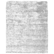soft solid handmade white area rug