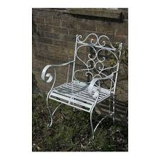 single antique french style garden