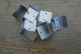 Fence Panel Brackets Post Clips Pack Of 24 50mm These Are Zinc Plated Ebay