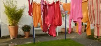 setting up a clothesline doityourself