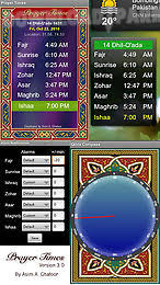 Prayer time Android App free download in Apk