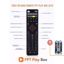 Remote FPT Play Box 2018