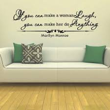Shop Marilyn Monroe Quote Wall Art Decal Sticker Overstock 10425705