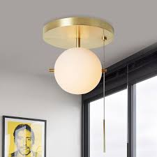 gidu mid century pull chain ceiling