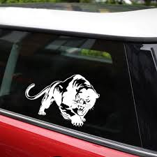 Car Sticker 3d 19 5 13 6cm Fiery Wild Panther Hunting Funny Sticker On Car Stickers And Decals Rear Window Vinyl Car Styling Shop The Nation