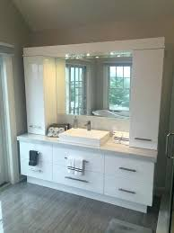 bathroom cabinets custom made semi