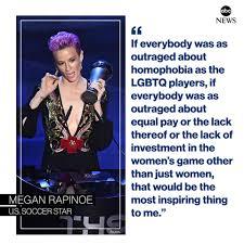 Megan Rapinoe gives powerful speech ...