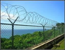 China Galvanized Razor Barbed Wire Fence China Razor Barbed Wire Concertina Razor Tape Wire