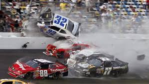 Nascar Crash Sends Car Debris Into The Stands At Daytona The Two Way Npr