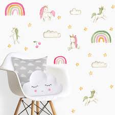 The Best Unicorn Wall Decals That Your Little Girl Would Love Nursery Kid S Room Decor Ideas My Sleepy Monkey