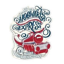 Harry Potter Hogwarts Express Vinyl Sticker Paperhouseproductions