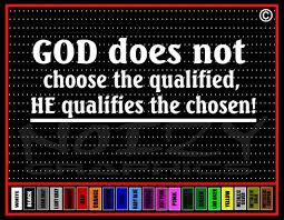 God Does Not Choose Qualified Christian Car Decal Vinyl Sticker Noizy Graphics Christian Apparel Decals Frames More