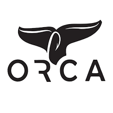 Black Whale Tail Window Decal Orca