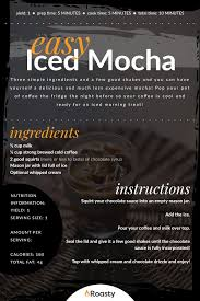 easy iced mocha recipe the chocolate