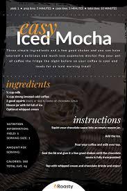 easy iced mocha recipe the chocolate
