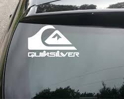 Quiksilver Logo Car Van Window Decal Sticker