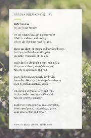 Pin on Garden Poems