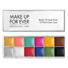 aqua color paint makeup forever