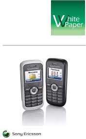Sony Ericsson Cell Phone J100 User ...
