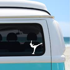 Ice Skater Chick Vinyl Decal Chick 9 Clothing