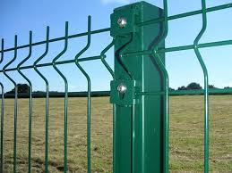 Security Fencing Prevents Intruders From Entering Unwanted Place