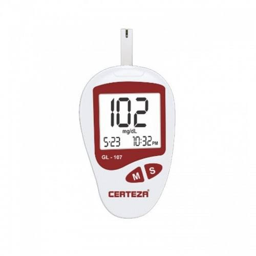 Image result for Blood glucose monitor with 25 strips (1x25 vial) GL 107