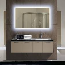 light up bathroom wall mirror led round