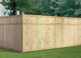 Treated Wood Fence Panels 6x8