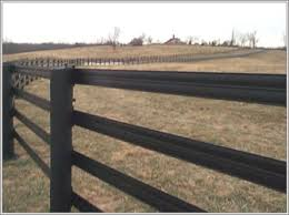Steel Wire Strengthened Flex Rail Horse Fence 108mm Wide 50mm Wide China Electric Top Rail Horse Fence Flexible Farm Rail Fence Kaijian Fence