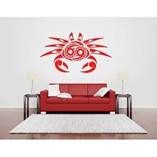 Aratikdesigns Wall Room Decor Art Vinyl Sticker Mural Decal Crab Cancer Sign Big Large As686
