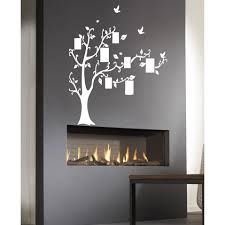 Shop Family Tree With Birds Wall Art Sticker Decal White Overstock 11849926