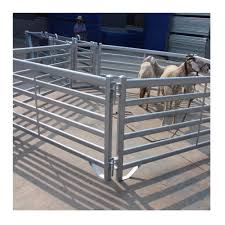 Livestock Metal Fence Panels Horse Gate Panels Galvanized Portable Cattle Fence Buy High Quality Cheap Farm Fence For Cattle Fence For Farm Metal Farm Fence Product On Alibaba Com