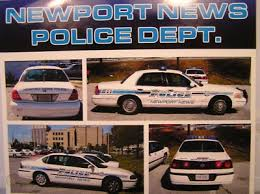 Newport News Police Dept Car 1 18 Scale Decals Virginia 147235751