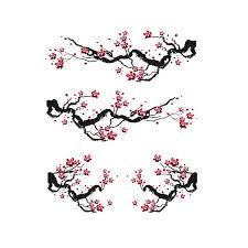 Cherry Blossom Decal Set Azvinylworks