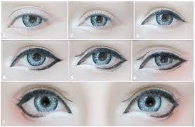 manga eyes makeup tutorial saubhaya