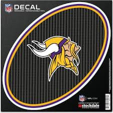 Official Minnesota Vikings Car Decal Vikings Window Decal Window Decal For Cars Nflshop Com