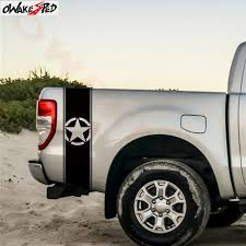2pcs Car Sticker Army Star Graphics Stickers Truck Bed Stripe Decor Decals Pick Up Tail Accessories Vinyl Decal Car Stickers Aliexpress
