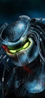 the predator artwork iphone x
