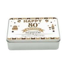 80th birthday keepsake novelty funny