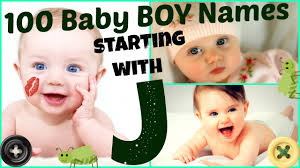baby boy names starting with letter j