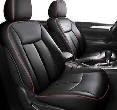 3d frontline pu leather car seat cover